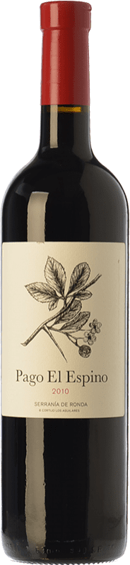 22,95 € 免费送货   红酒 Los Aguilares Pago El Espino Crianza D.O. Sierras de Málaga 安达卢西亚 西班牙 Tempranillo, Merlot, Petit Verdot 瓶子 75 cl