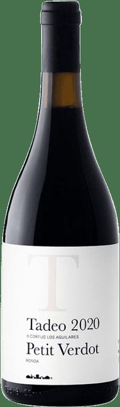 36,95 € 免费送货   红酒 Los Aguilares Tadeo de los Aguilares Crianza D.O. Sierras de Málaga 安达卢西亚 西班牙 Syrah, Petit Verdot 瓶子 75 cl