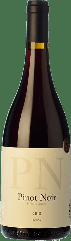 36,95 € Envoi gratuit | Vin rouge Los Aguilares Joven D.O. Sierras de Málaga Andalousie Espagne Pinot Noir Bouteille 75 cl