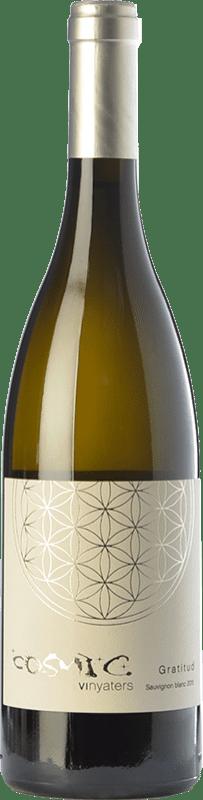 16,95 € | White wine Còsmic Gratitud Crianza Spain Sauvignon White Bottle 75 cl