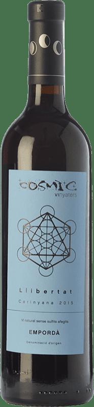 17,95 € | Red wine Còsmic Llibertat Joven D.O. Empordà Catalonia Spain Carignan Bottle 75 cl