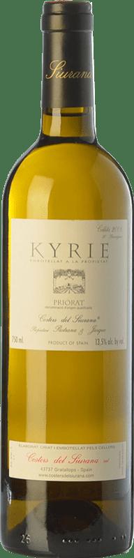 95,95 € | White wine Costers del Siurana Kyrie Crianza 2010 D.O.Ca. Priorat Catalonia Spain Grenache White, Muscat of Alexandria, Macabeo, Xarel·lo Bottle 75 cl