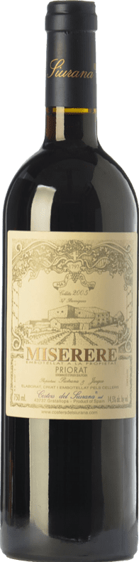 99,95 € 免费送货 | 红酒 Costers del Siurana Miserere Crianza 2005 D.O.Ca. Priorat 加泰罗尼亚 西班牙 Merlot, Syrah, Grenache, Cabernet Sauvignon, Carignan 瓶子 75 cl