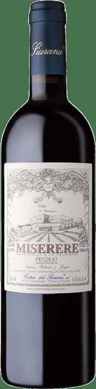 99,95 € Envoi gratuit | Vin rouge Costers del Siurana Miserere Crianza 2005 D.O.Ca. Priorat Catalogne Espagne Merlot, Syrah, Grenache, Cabernet Sauvignon, Carignan Bouteille 75 cl