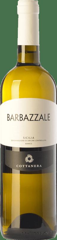 11,95 € | White wine Cottanera Barbazzale Bianco D.O.C. Etna Sicily Italy Viognier, Catarratto Bottle 75 cl