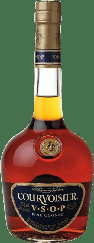 26,95 € Envío gratis | Coñac Courvoisier V.S.O.P. Very Superior Old Pale A.O.C. Cognac Francia Botella 70 cl