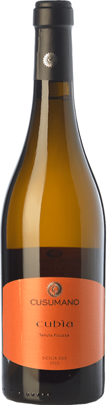 16,95 € 免费送货   白酒 Cusumano Cubìa I.G.T. Terre Siciliane 西西里岛 意大利 Insolia 瓶子 75 cl