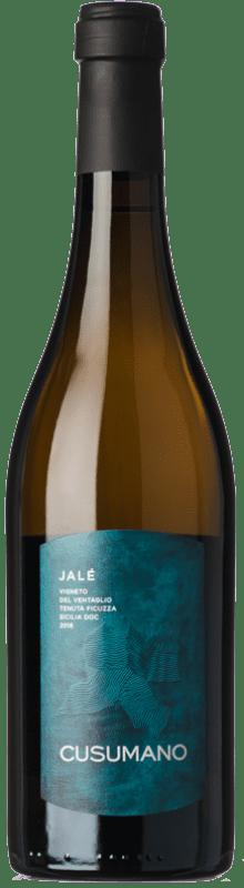 26,95 € Envoi gratuit | Vin blanc Cusumano Jalé I.G.T. Terre Siciliane Sicile Italie Chardonnay Bouteille 75 cl