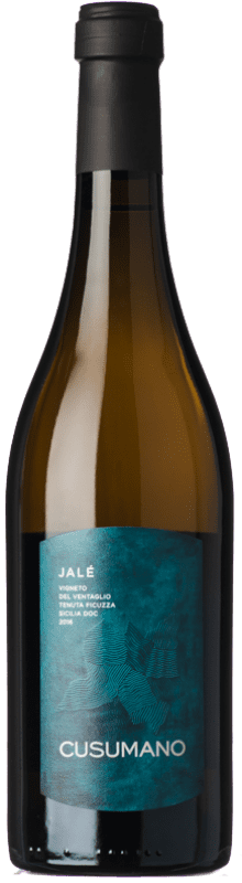 26,95 € Envío gratis | Vino blanco Cusumano Jalé I.G.T. Terre Siciliane Sicilia Italia Chardonnay Botella 75 cl