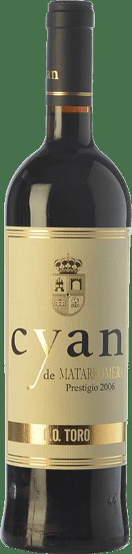 23,95 € Free Shipping | Red wine Cyan Prestigio Crianza D.O. Toro Castilla y León Spain Tinta de Toro Bottle 75 cl