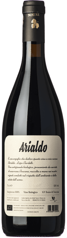 11,95 € | Red wine Dalle Nostre Mani Arialdo I.G.T. Toscana Tuscany Italy Sangiovese Bottle 75 cl