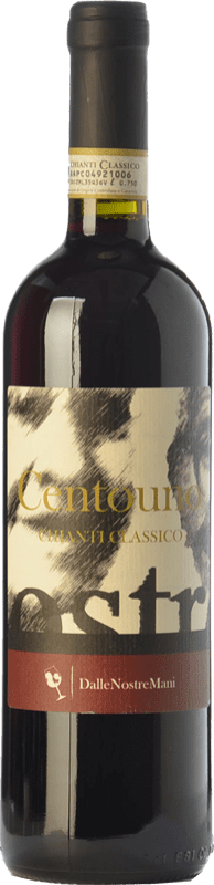 16,95 € Free Shipping | Red wine Dalle Nostre Mani Centouno D.O.C.G. Chianti Classico Tuscany Italy Sangiovese, Canaiolo Bottle 75 cl