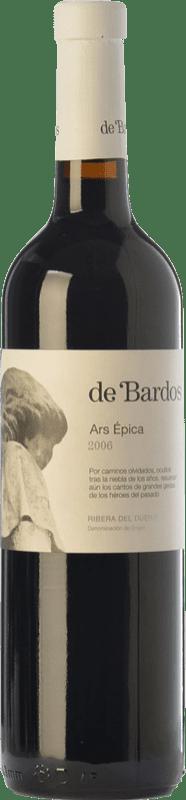 13,95 € Envío gratis | Vino tinto Bardos Ars Épica Crianza D.O. Ribera del Duero Castilla y León España Tempranillo Botella 75 cl