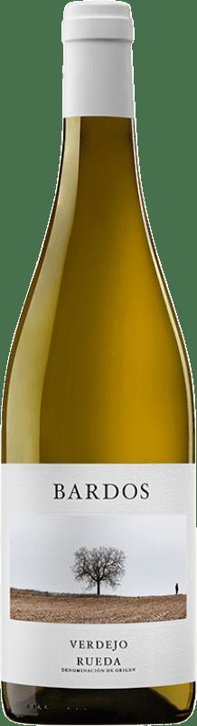 8,95 € Envío gratis | Vino blanco Bardos Ars Romántica Joven D.O. Rueda Castilla y León España Verdejo Botella 75 cl