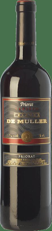 8,95 € 免费送货   红酒 De Muller Legítim de Muller Crianza D.O.Ca. Priorat 加泰罗尼亚 西班牙 Merlot, Syrah, Grenache, Carignan 瓶子 75 cl