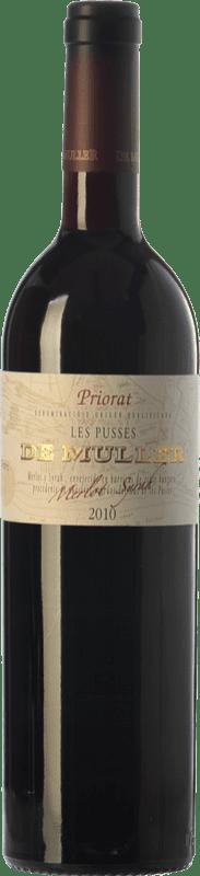 19,95 € 免费送货   红酒 De Muller Les Pusses Crianza D.O.Ca. Priorat 加泰罗尼亚 西班牙 Merlot, Syrah 瓶子 75 cl