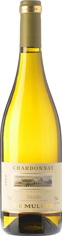 9,95 € | White wine De Muller Crianza D.O. Tarragona Catalonia Spain Chardonnay Bottle 75 cl