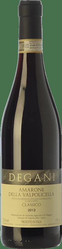 31,95 € Envoi gratuit | Vin rouge Degani D.O.C.G. Amarone della Valpolicella Vénétie Italie Corvina, Rondinella, Molinara, Oseleta Bouteille 75 cl
