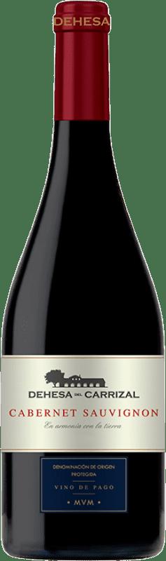 19,95 € Envoi gratuit | Vin rouge Dehesa del Carrizal Crianza D.O.P. Vino de Pago Dehesa del Carrizal Castilla La Mancha Espagne Cabernet Sauvignon Bouteille 75 cl