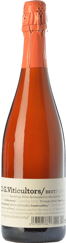 15,95 € 免费送货 | 玫瑰气泡酒 DG Rosé 香槟 Reserva D.O. Cava 加泰罗尼亚 西班牙 Pinot Black 瓶子 75 cl