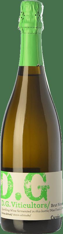 14,95 € Envío gratis | Espumoso blanco DG Garay Blanc D.O. Penedès Cataluña España Chardonnay Botella 75 cl