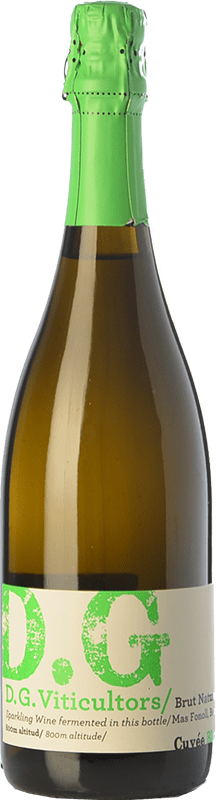 14,95 € Free Shipping | White sparkling DG Garay Blanc D.O. Penedès Catalonia Spain Chardonnay Bottle 75 cl