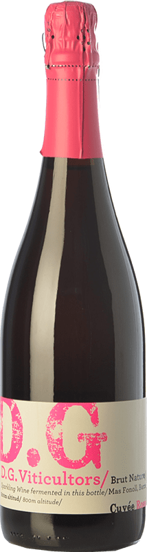 14,95 € 免费送货 | 玫瑰气泡酒 DG Garay Rosé D.O. Penedès 加泰罗尼亚 西班牙 Pinot Black 瓶子 75 cl