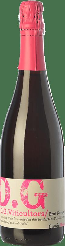 14,95 € Envío gratis | Espumoso rosado DG Garay Rosé D.O. Penedès Cataluña España Pinot Negro Botella 75 cl