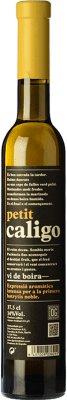 18,95 € Envío gratis | Vino dulce DG Petit Caligo D.O. Penedès Cataluña España Chardonnay, Sauvignon Blanca Media Botella 37 cl