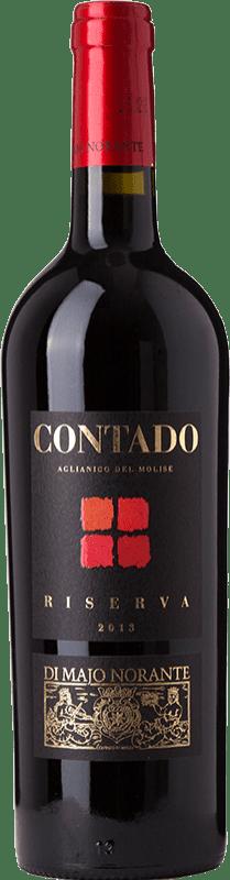 15,95 € Free Shipping | Red wine Majo Norante Contado D.O.C. Molise Molise Italy Aglianico Bottle 75 cl
