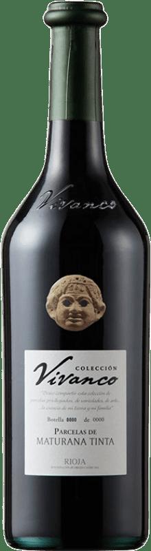 44,95 € Envío gratis | Vino tinto Vivanco Colección Parcelas de Maturana Crianza D.O.Ca. Rioja La Rioja España Maturana Tinta Botella 75 cl
