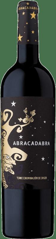 14,95 € Envío gratis | Vino tinto Divina Proporción Abracadabra Crianza D.O. Toro Castilla y León España Tinta de Toro Botella 75 cl