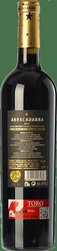 14,95 € | Red wine Divina Proporción Abracadabra Crianza D.O. Toro Castilla y León Spain Tinta de Toro Bottle 75 cl