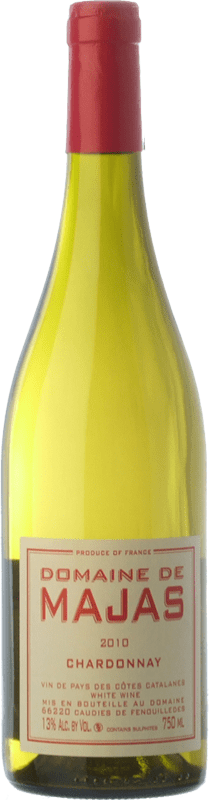 14,95 € | White wine Domaine de Majas I.G.P. Vin de Pays Roussillon Roussillon France Chardonnay Bottle 75 cl