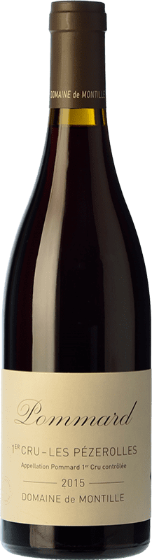 144,95 € | Red wine Domaine de Montille Premier Cru Les Pézerolles Crianza A.O.C. Pommard Burgundy France Pinot Black Bottle 75 cl