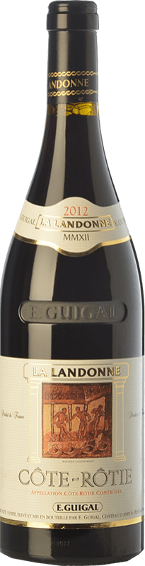 262,95 € Free Shipping | Red wine Domaine E. Guigal La Landonne Crianza A.O.C. Côte-Rôtie Rhône France Syrah Bottle 75 cl