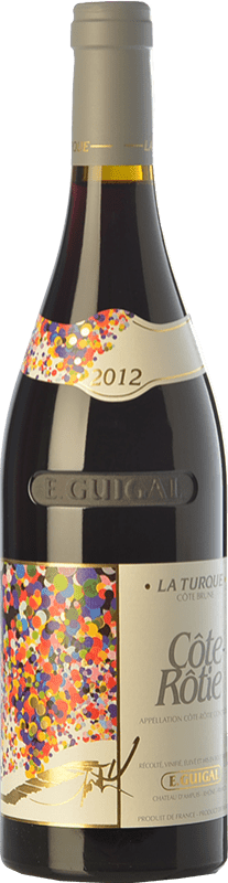 267,95 € Free Shipping | Red wine Domaine E. Guigal La Turque Crianza A.O.C. Côte-Rôtie Rhône France Syrah, Viognier Bottle 75 cl