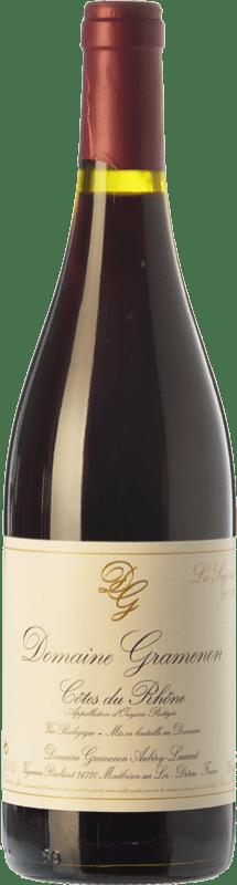 26,95 € Free Shipping | Red wine Domaine Gramenon La Sagesse Crianza A.O.C. Côtes du Rhône Rhône France Grenache Bottle 75 cl