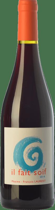 14,95 € Free Shipping | Red wine Domaine Gramenon Maxime-François Laurent Il Fait Soif Joven A.O.C. Côtes du Rhône Rhône France Syrah, Grenache Bottle 75 cl