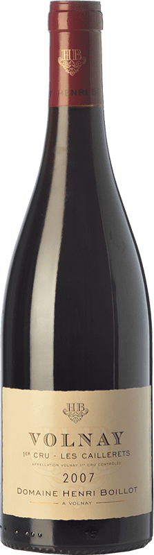 79,95 € | Red wine Domaine Henri Boillot Premier Cru Les Caillerets Crianza 2007 A.O.C. Volnay Burgundy France Pinot Black Bottle 75 cl