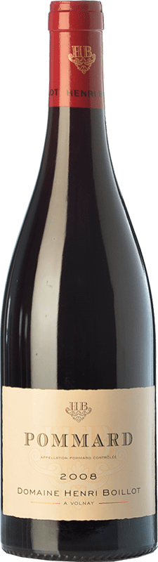 49,95 € | Red wine Domaine Henri Boillot Crianza 2008 A.O.C. Pommard Burgundy France Pinot Black Bottle 75 cl
