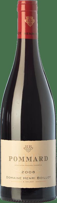 49,95 € Envío gratis | Vino tinto Domaine Henri Boillot Crianza A.O.C. Pommard Borgoña Francia Pinot Negro Botella 75 cl