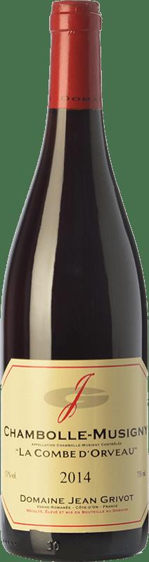 84,95 € Envío gratis   Vino tinto Domaine Jean Grivot La Combe d'Orveau Crianza A.O.C. Chambolle-Musigny Borgoña Francia Pinot Negro Botella 75 cl