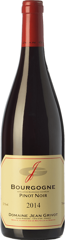 34,95 € Free Shipping | Red wine Domaine Jean Grivot Crianza A.O.C. Bourgogne Burgundy France Pinot Black Bottle 75 cl