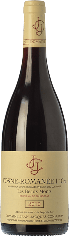 79,95 € Free Shipping | Red wine Confuron V-Romanée 1 Cru Les Beaux-Monts Crianza 2010 A.O.C. Bourgogne Burgundy France Pinot Black Bottle 75 cl