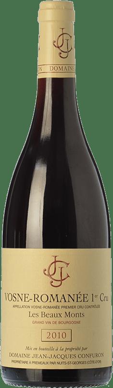 79,95 € | Red wine Confuron V-Romanée 1 Cru Les Beaux-Monts Crianza 2010 A.O.C. Bourgogne Burgundy France Pinot Black Bottle 75 cl