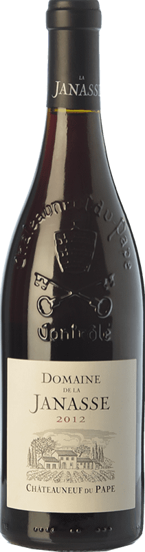 49,95 € 免费送货 | 红酒 Domaine La Janasse Crianza A.O.C. Châteauneuf-du-Pape 罗纳 法国 Syrah, Grenache, Mourvèdre, Cinsault 瓶子 75 cl