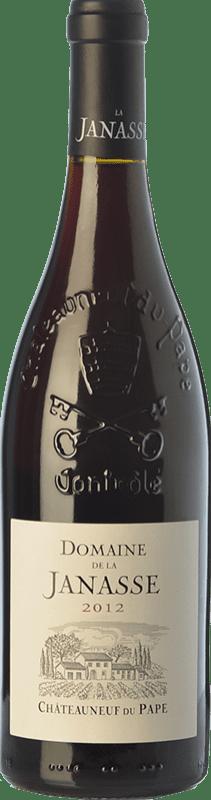 49,95 € Free Shipping | Red wine Domaine La Janasse Crianza A.O.C. Châteauneuf-du-Pape Rhône France Syrah, Grenache, Mourvèdre, Cinsault Bottle 75 cl