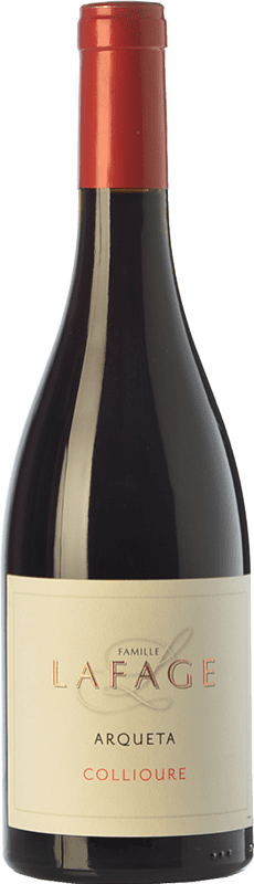 26,95 € Envoi gratuit | Vin rouge Domaine Lafage Arqueta Joven A.O.C. Collioure Languedoc-Roussillon France Syrah, Grenache, Carignan, Grenache Gris Bouteille 75 cl