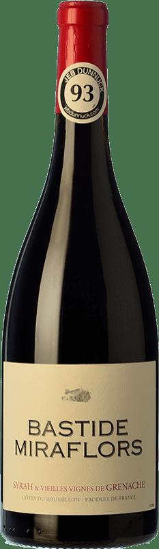 16,95 € Free Shipping | Red wine Domaine Lafage Bastide Miraflors Joven A.O.C. Côtes du Roussillon Languedoc-Roussillon France Syrah, Grenache Bottle 75 cl